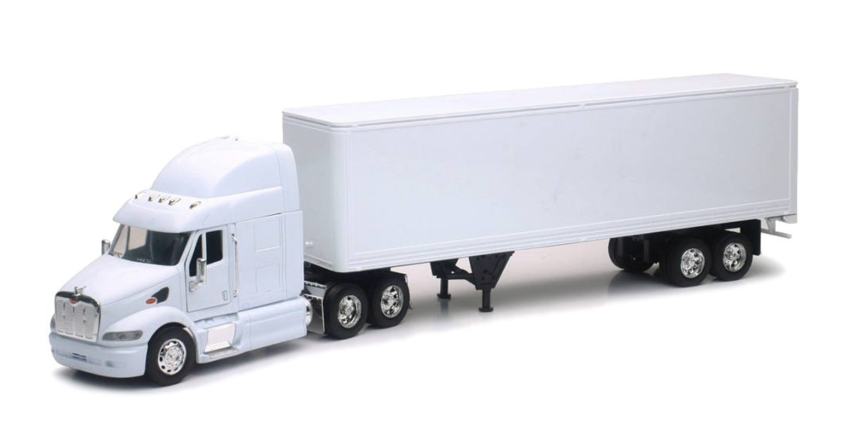 Personalized Truck Gift - Customize These Model Trucks with Your Logo Or Text White One Size
