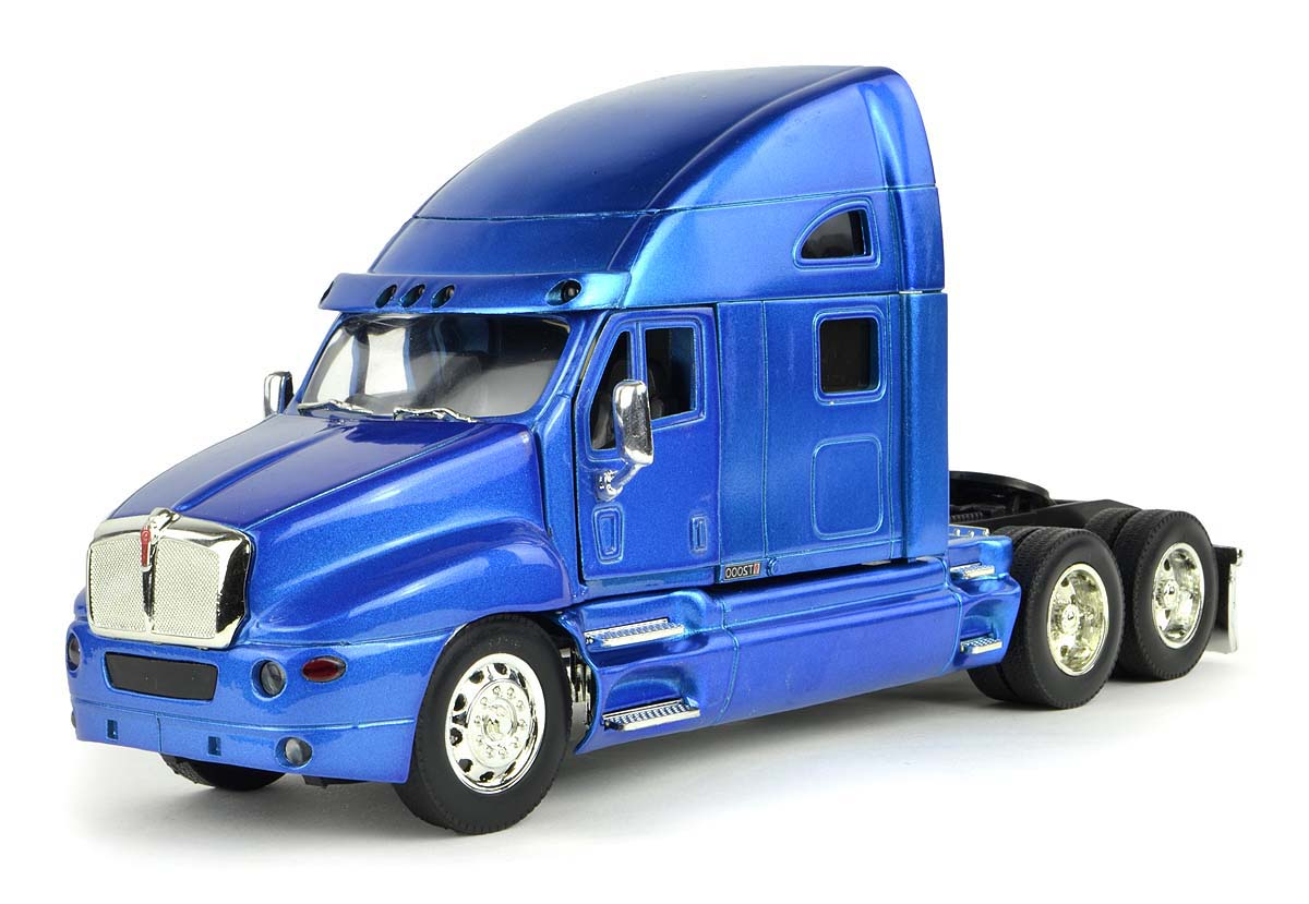 Shop72 Personalized This Diecast NewRay 1:32 Kenworth T2000 Truck Cab with Logo or Name for Promotional Use - Blue