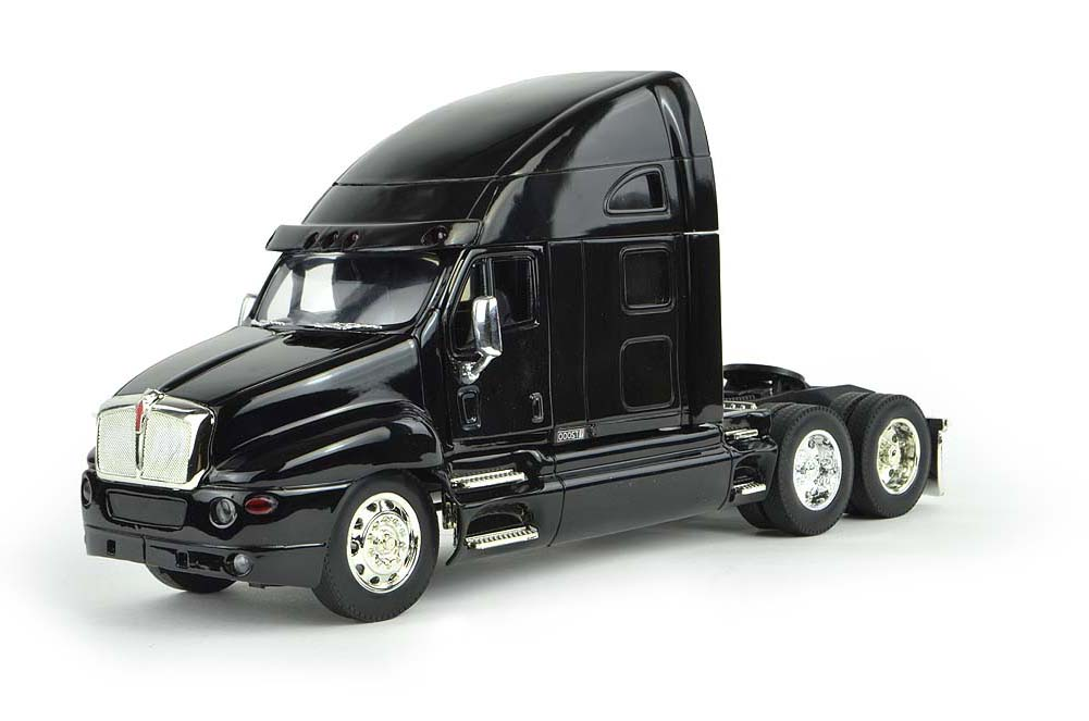 Shop72 Personalized This Diecast NewRay 1:32 Kenworth T2000 Truck Cab with Logo or Name for Promotional Use - Black