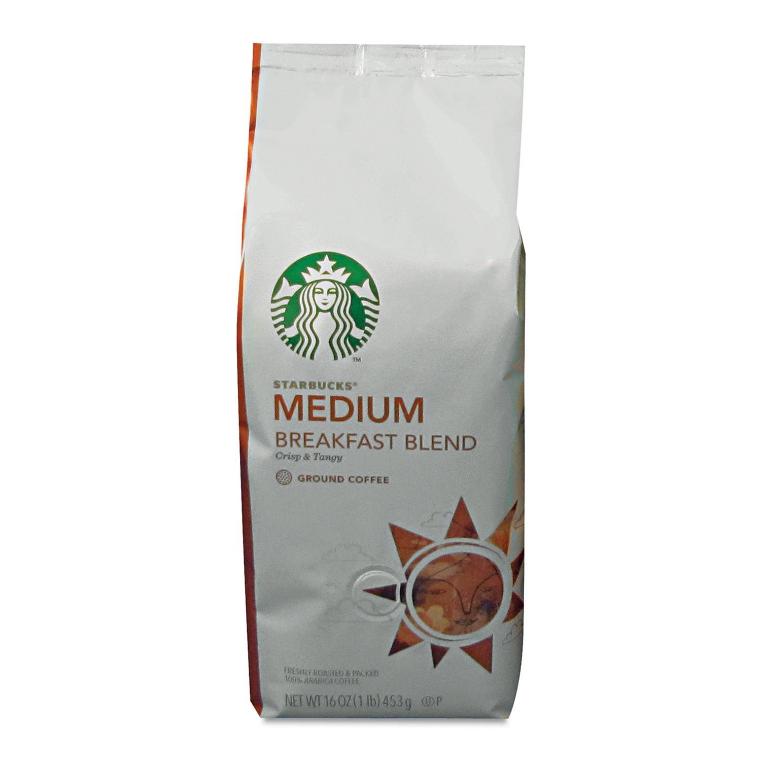 Starbucks Breakfast Blend Ground Coffee (1 lb. bag)