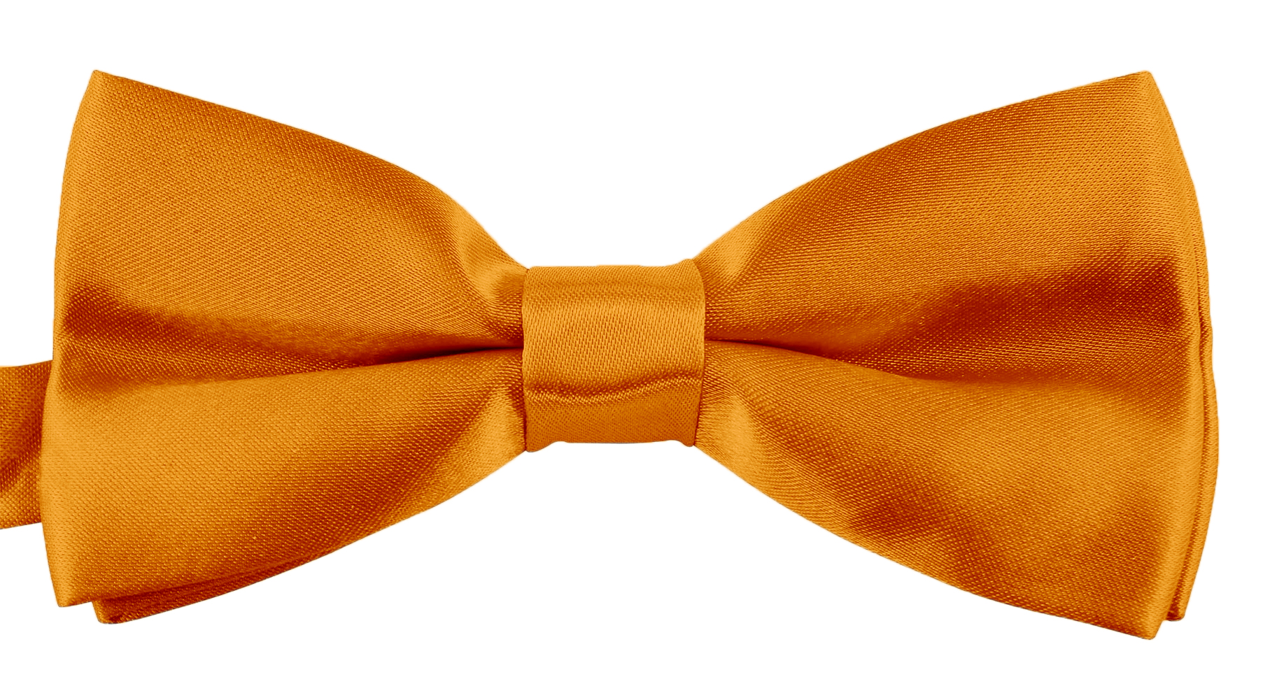 Classic Bow Ties For Men Adjustable Banded Pre-Tied Wedding Tuxedo - Golden Yellow