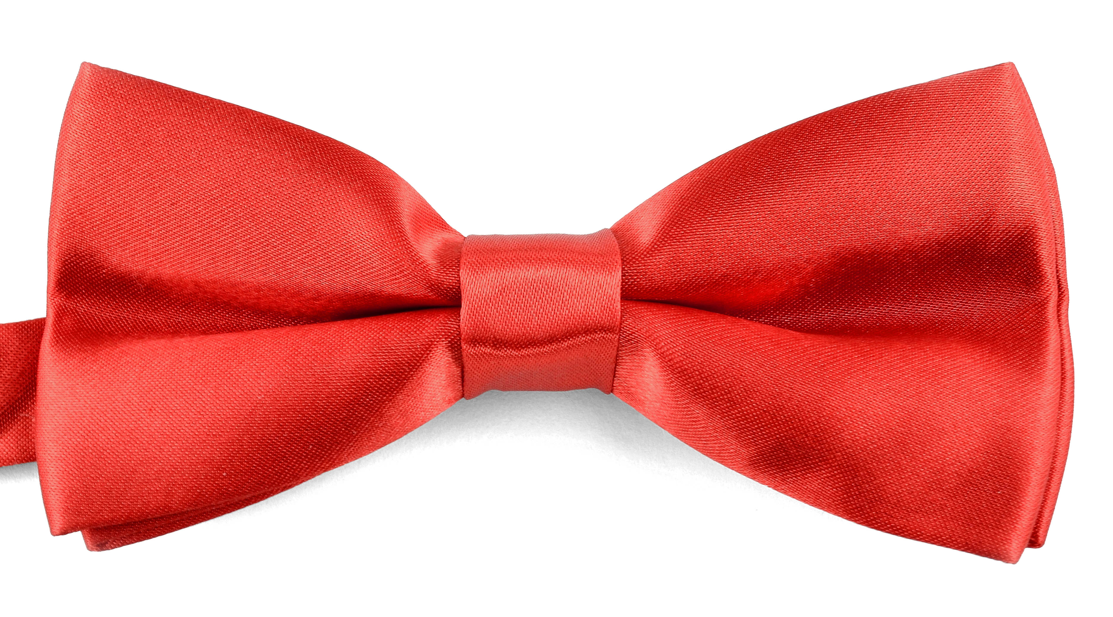 Classic Bow Ties For Men Adjustable Banded Pre-Tied Formal Wedding Tuxedo Gift Box - Coral Sunset