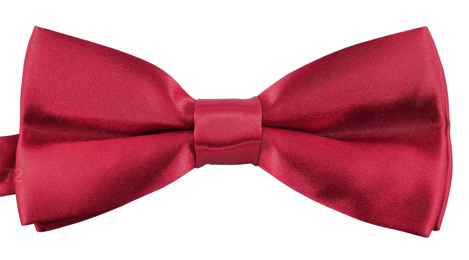 Bow Ties For Men Banded Pre Tied Formal Wedding Bowties Storage Gift Box - Crimson
