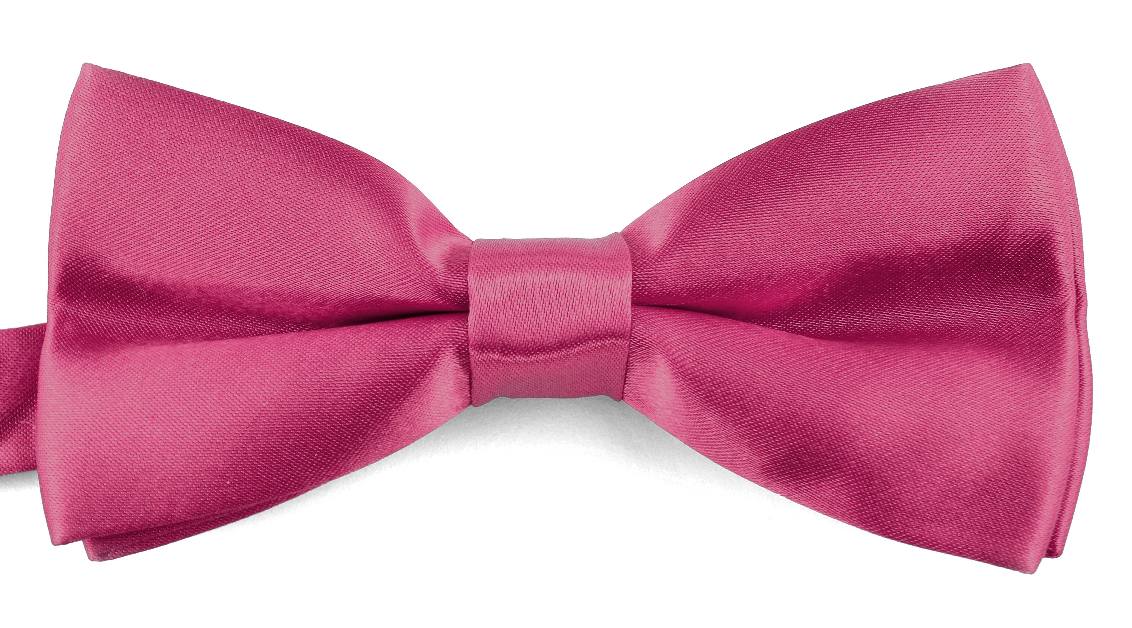 Bow Ties For Men Banded BowTie Formal Tuxedo Bowties PreTied Bow Ties With Gift Box By Moda Di Raza - Rose Pink