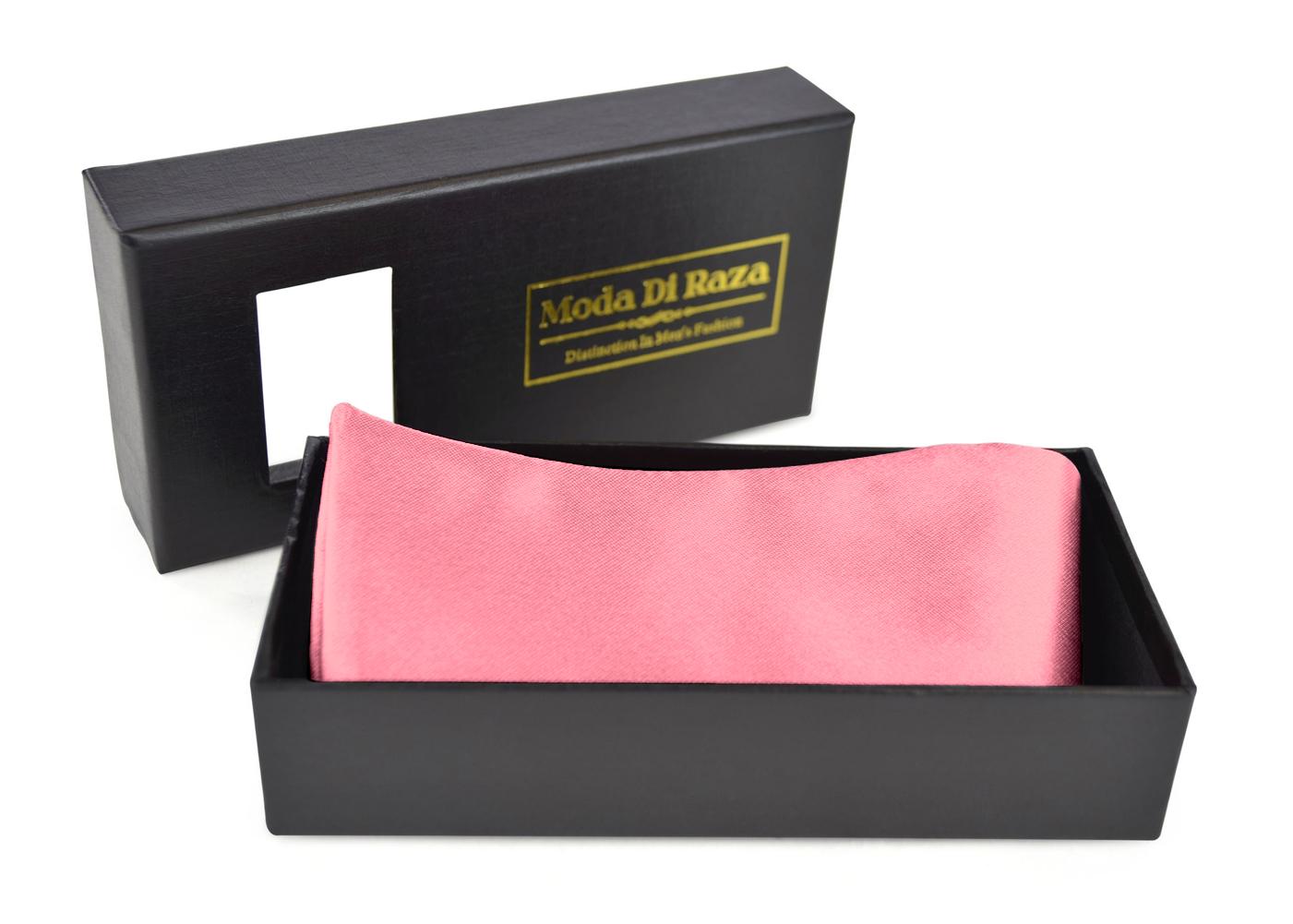 Bow Ties For Men's Adjustable Self Tied Gift Box Moda Di Raza - Carnation Pink