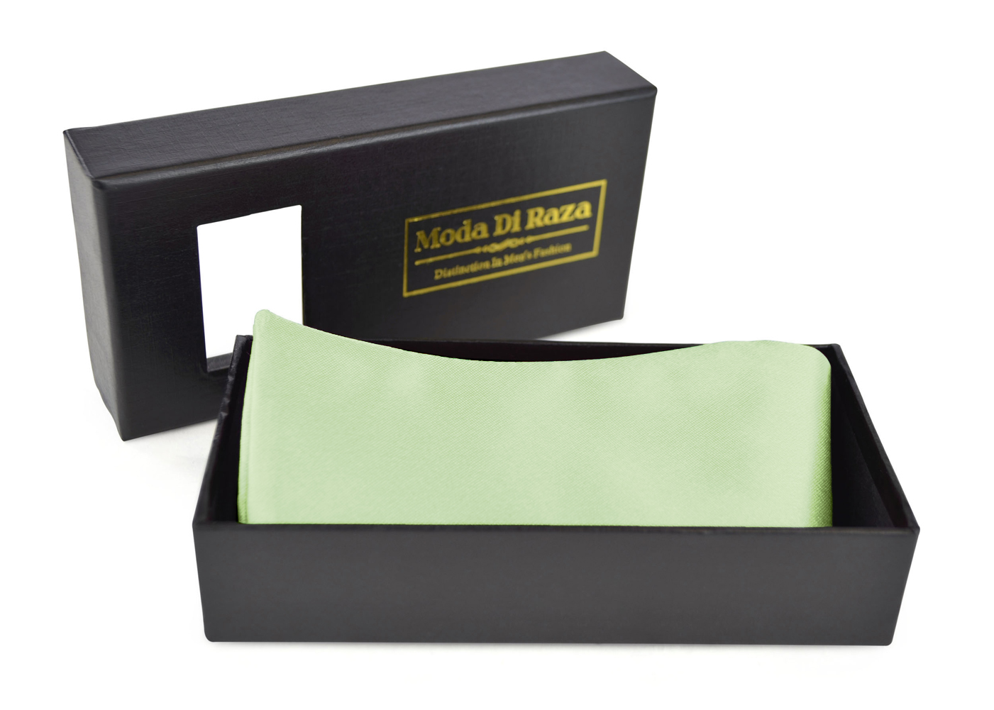 Bow Ties For Men's Adjustable Self Tied Gift Box Moda Di Raza - Olive Green