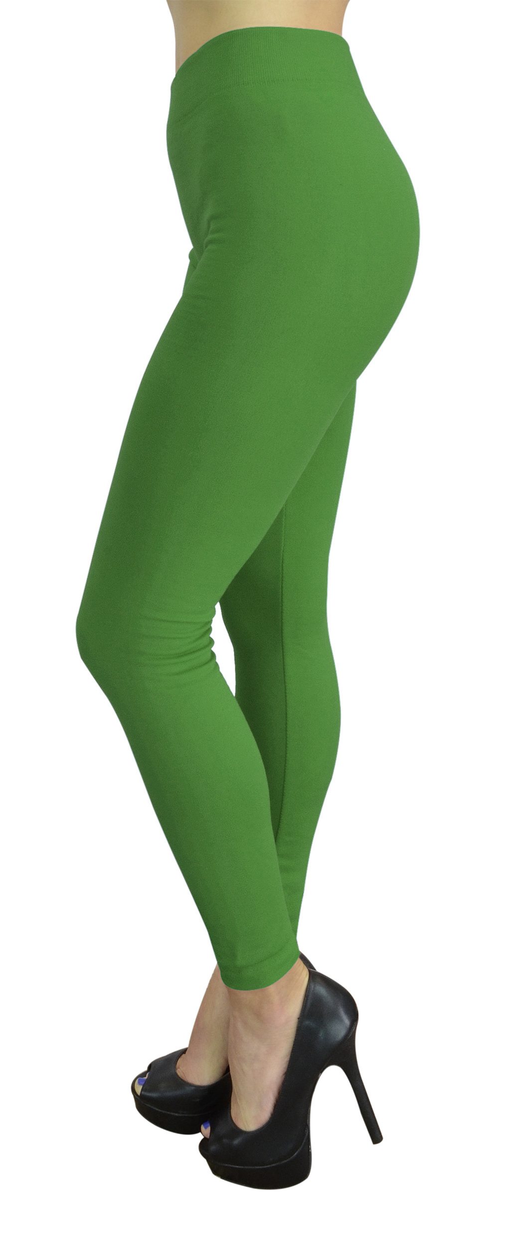 Belle Donne Womens Leggings Workout Yoga Solid Color High Waist by Jade