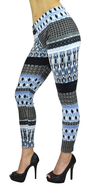 Women's Full Length Leggings - Women's Stretch Purple Velour Leggings