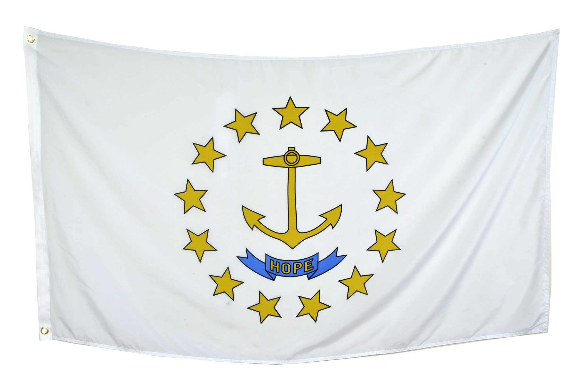 Shop72 US Rhode Island State Flags - Rhode Island Flag - 3x5' Flag from Sturdy 100D Polyester