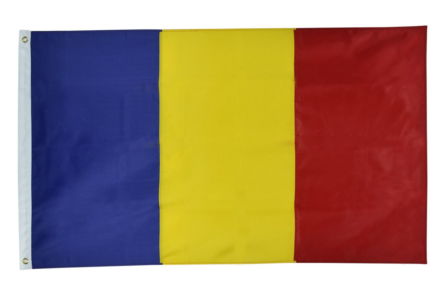 Shop72 Romania Flag Oxford Nylon Country Flags Canvas Header Brass Grommets Stitched from Wind Side