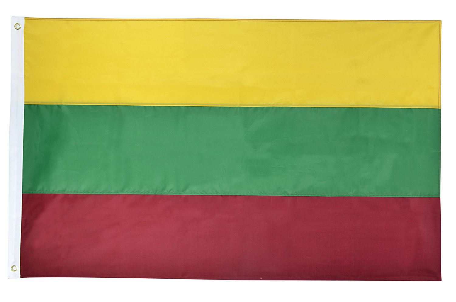 Shop72 - Lithuania Flag Oxford Nylon World Flag Canvas Header Brass Grommets Stitched from Wind Side