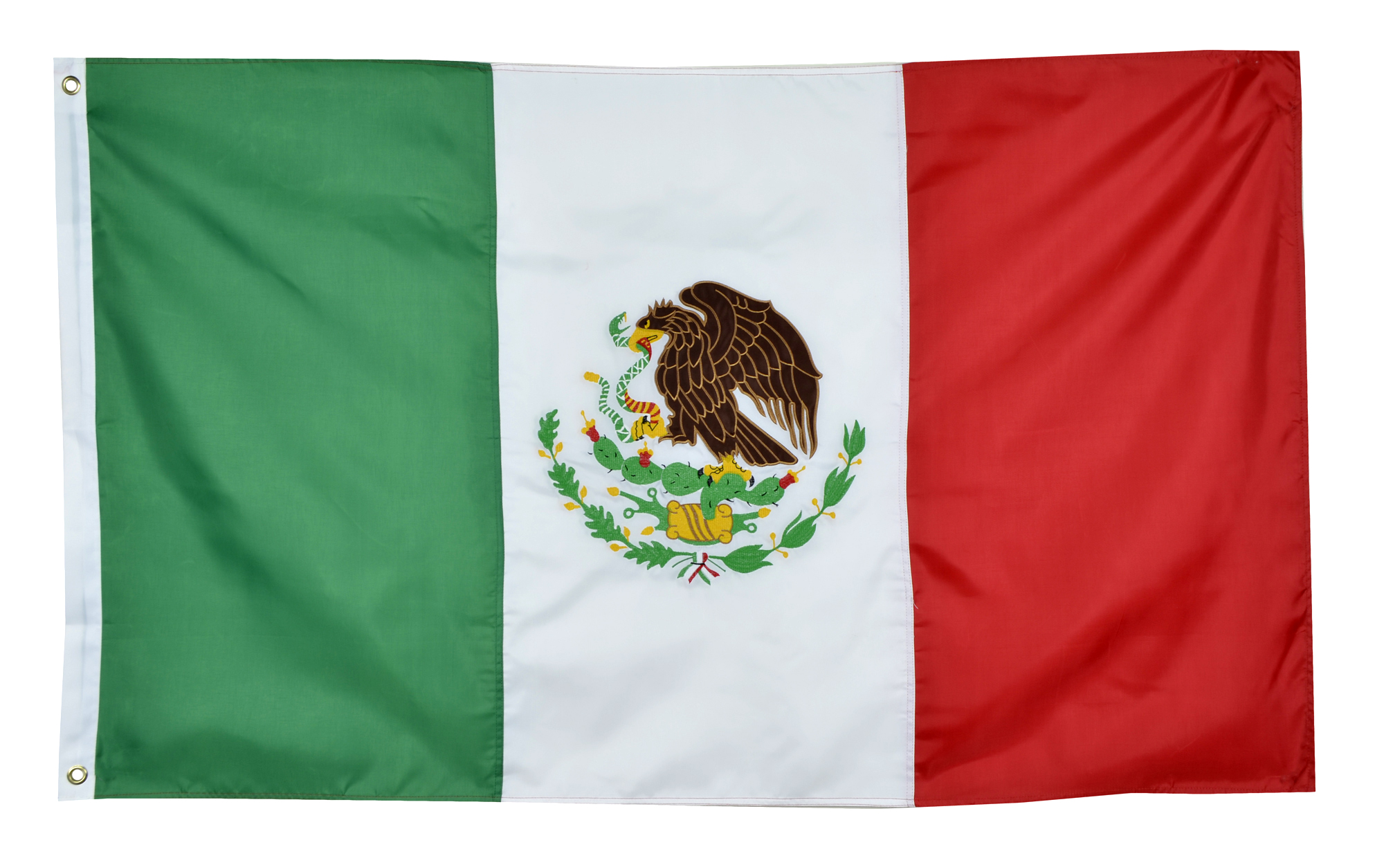 Shop72 Mexico Flag Sturdy Nylon Country Flags - World Flag  Double Stitched from Wind Side