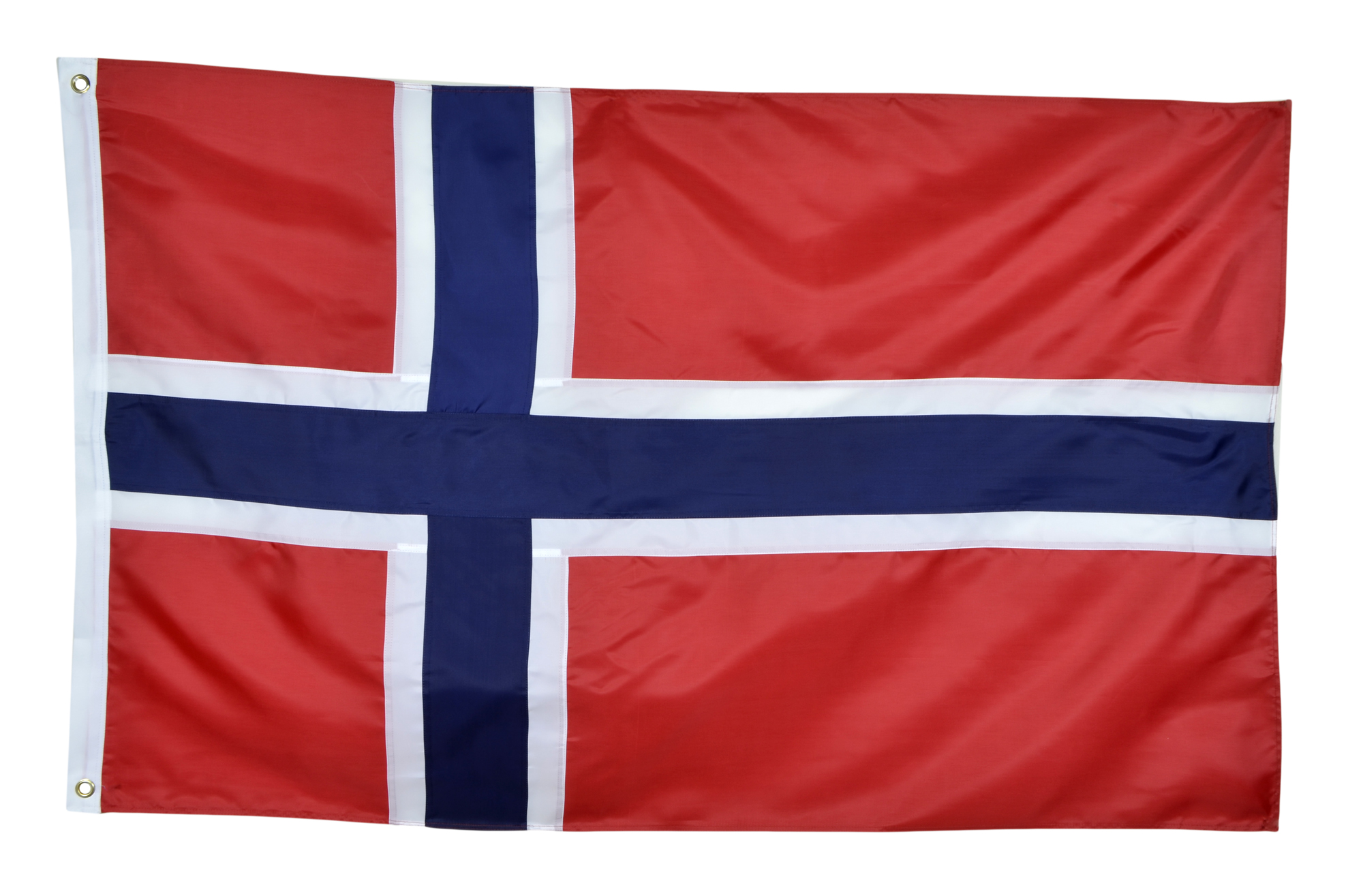 Shop72 Norway Flag Nylon Country Flags Canvas Header Brass Grommets Double Stitched from Wind Side