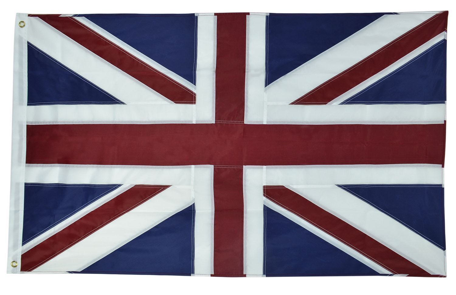 Shop72 - Union Jack Flag Oxford Nylon Country Flags Brass Grommets Double Stitched from Wind Side
