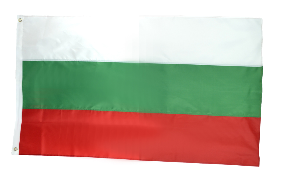 Shop72 - Bulgaria Flag Nylon Country Flags Canvas Header Brass Grommets Stitched from Wind Side