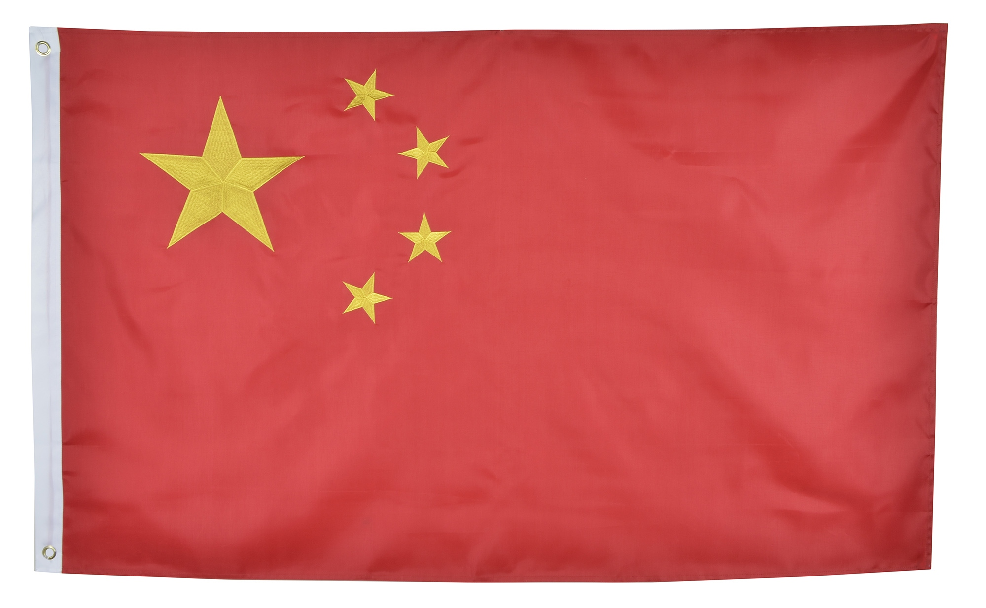 Shop72 China Flag Oxford Nylon Country Flags Canvas Header Brass Grommets Stitched from Wind Side
