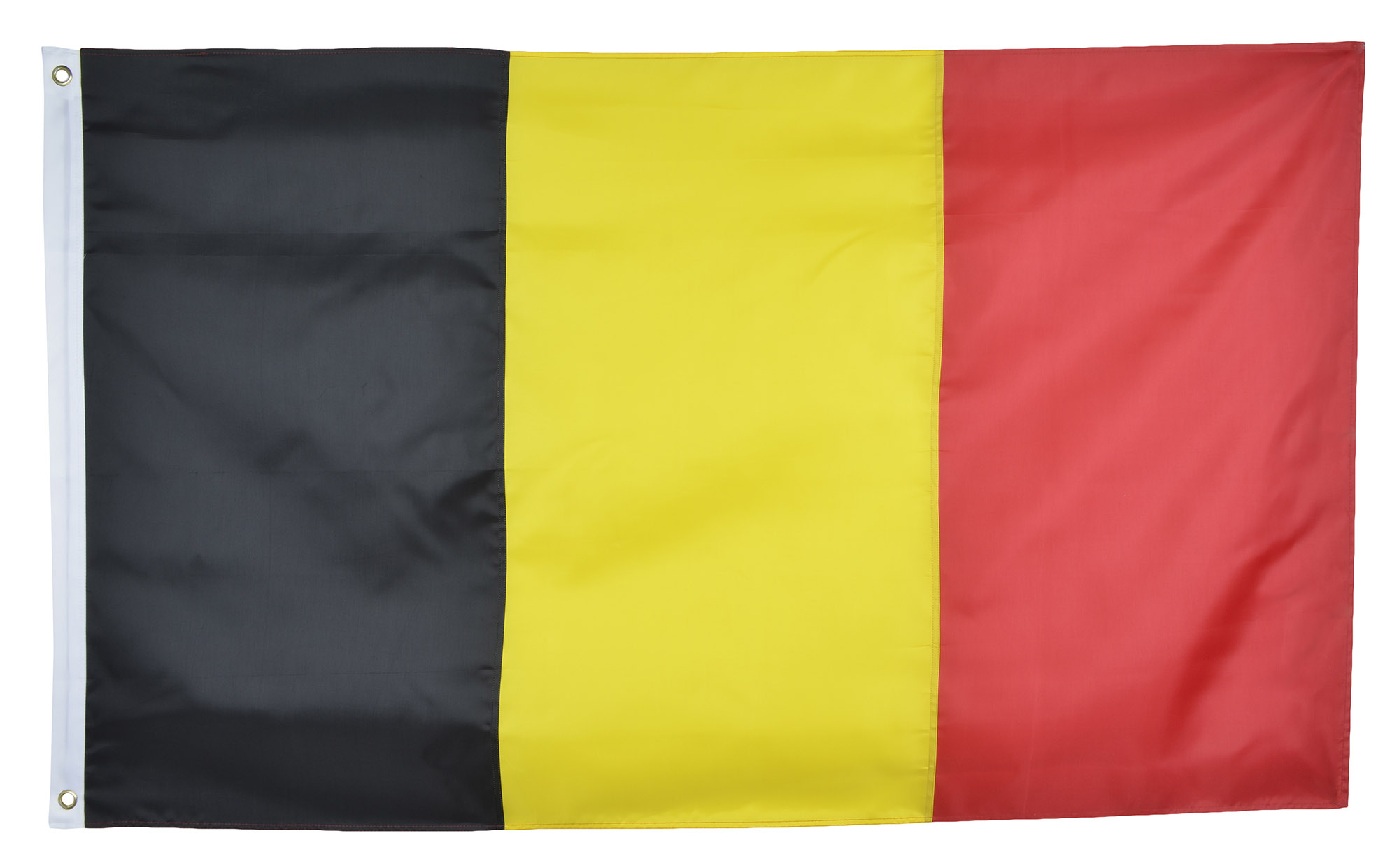 Shop72 Belgium Flag Oxford Nylon Country Flags Canvas Header Brass Grommets Stitched from Wind Side