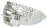 BB-Belt-11016-White/Medium