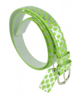 BBT-BELT-JBT187-GreenSilver/L