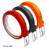 BBT-BELTS-7055-SET3-Red-Black-Orange-L