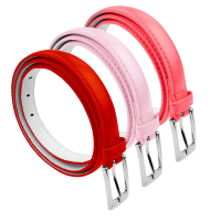 BBT-BELTS-7055-SET3-RedLPnkWatermelon-L