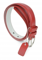 BBT-BELTS-JBT189-GIRLS-RED/L