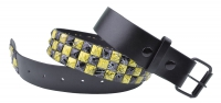 BBT-BELT-7006-Black-Yellow/S
