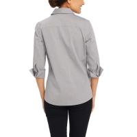 Foxcroft-NonIron-Women-Shirt-Silver-S