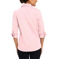 Foxcroft-NonIron-Women-Shirt-Pink-S