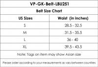 GK-Belt-LBU251A-Blue-S