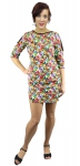 JU-YD-632-Floral-Yellow/Red-1X