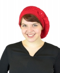 OPT-WOMEN-HAT-WH4083-RED