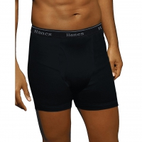 SAMS-MA-HANES-5BRIEF-Black-2XL