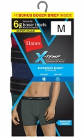 HANES-6BRIEF-XTEMP-BLKBLGRY-L