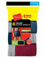 HANES-6BRIEF-SPORT-XL