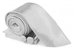 SZ-Tie30-Cuff-Hanky-Set-White