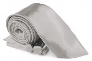 SZ-Tie30-Cuff-Hanky-Set-Silver