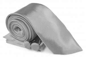 SZ-Tie30-Cuff-Hanky-Set-Gray