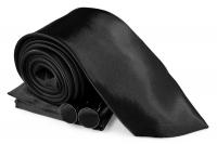 SZ-Tie30-Cuff-Hanky-Set-Black