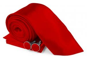 SZ-Tie30-Cuff-Hanky-Set-Red