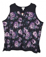 KM-WOMEN-TOPS-FLORAL-NAVY-3X
