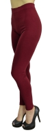 YL-SML528SD-LEGGINGS-WINERED