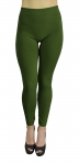 YL-SML538SD002-LEGGINGS-ARMYGRN