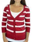 ZA-WOMEN-CARDGN-3678-RED-WHT-L
